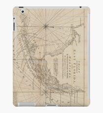 Vintage Map of The Florida Keys (1771) iPad Case/Skin