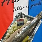 "Haring-  ""herring"" poster- Amsterdam by David Chesluk"