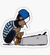 J Dilla Design Sticker