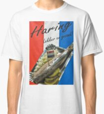 """Haring-  """"herring"""" poster- Amsterdam Classic T-Shirt"""