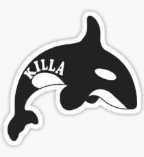 Killa Whale Sticker