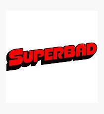 Superbad Logo Photographic Print