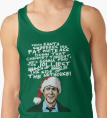 Griswold alternative Christmas card Tank Top