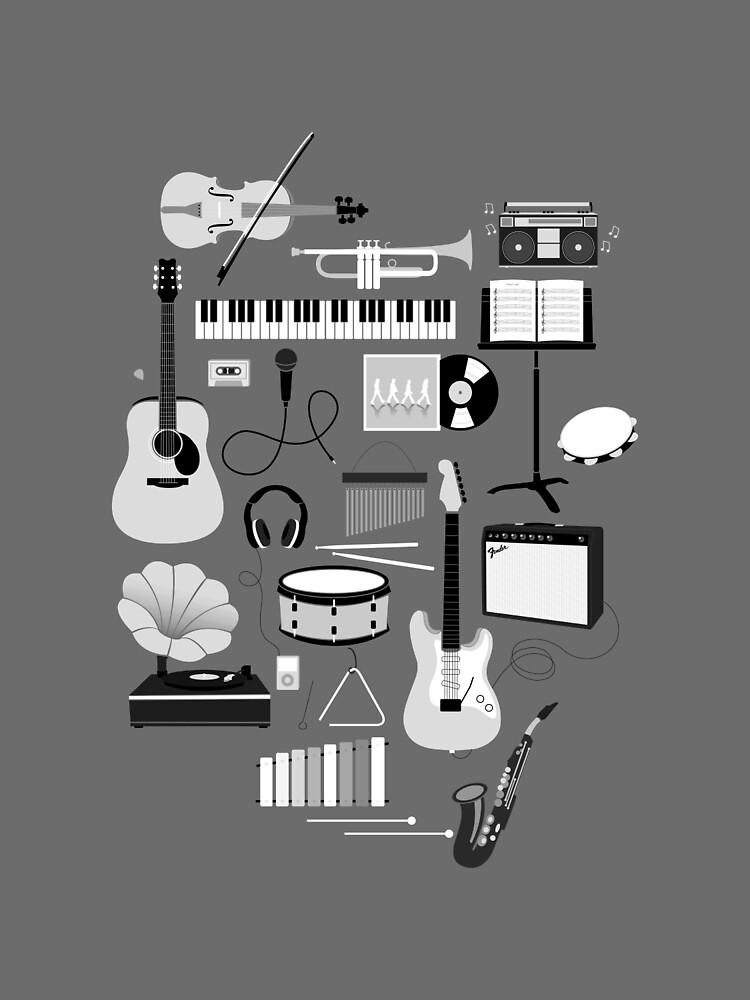 Music Things by joannawalters
