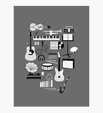 Music Things Photographic Print