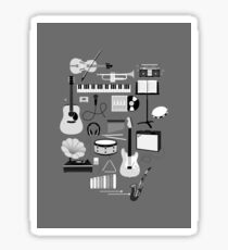 Music Things Sticker