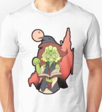 Green Witch Nerd Unisex T-Shirt