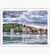Dubrovnik harbour  Sticker