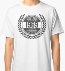 Vintage 1969 Aged To Perfection Classic T-Shirt
