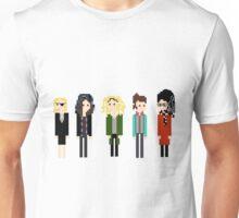 Pixel Clones - 5 - Horizontal Unisex T-Shirt