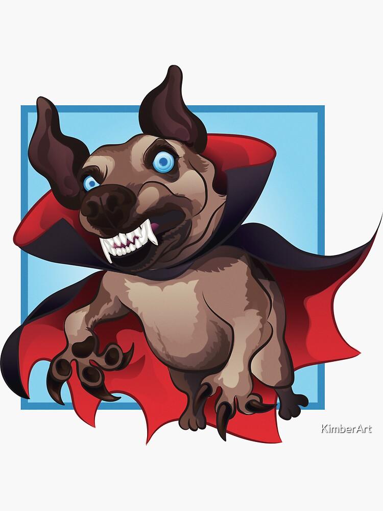 Count Dogula by KimberArt