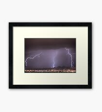Things That Go Boom In The Night Framed Print