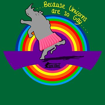 Rhinoceros – because unicorns are gay  by KentAfford