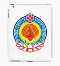 Kalmyk coat of arms iPad Case/Skin