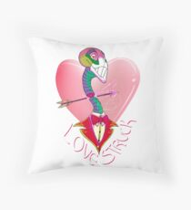 Love Struck Throw Pillow