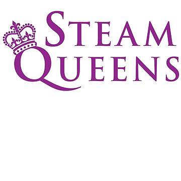 Steam Queens Design 02 Purple by areid89