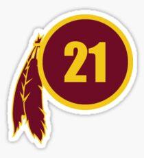 Sean Taylor Redskins Logo Sticker