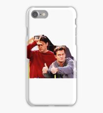 Chandler Bing Joey Tribbiani Friends iPhone Case/Skin