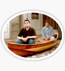 Chandler Bing Joey Tribbiani Friends Sticker