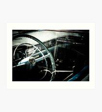 Cadillac Times Art Print