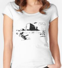 Krazy Kat & Ignatz Women's Fitted Scoop T-Shirt
