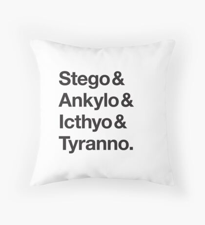 Names Classic  Throw Pillow