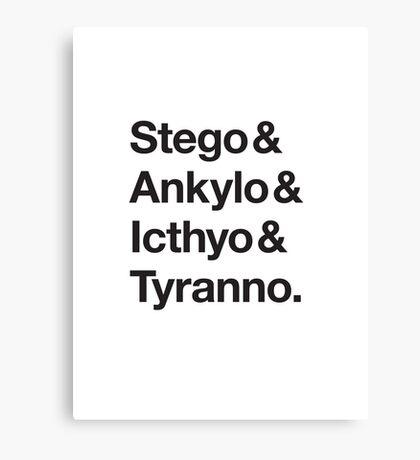 Names Classic  Canvas Print