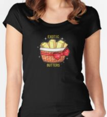 FNAF Exotic Butters Women's Fitted Scoop T-Shirt