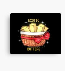 FNAF Exotic Butters Canvas Print