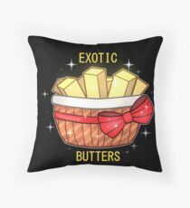 FNAF Exotic Butters Throw Pillow