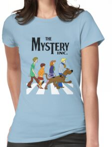 Scooby Doo Abbey Road Womens Fitted T-Shirt