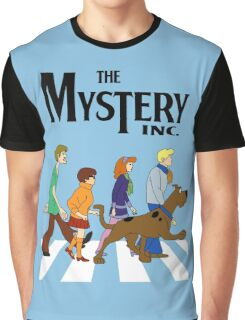 Scooby Doo Abbey Road Graphic T-Shirt