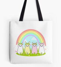 Alpaca Paradise (Pastel Version) Tote Bag