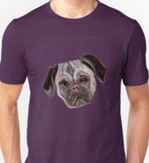 Pug - Cut Out Unisex T-Shirt
