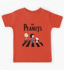 Peanuts Abbey Road Kids Tee