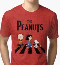 Peanuts Abbey Road Tri-blend T-Shirt