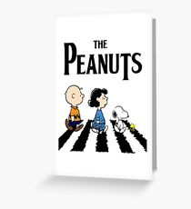 Peanuts Abbey Road Greeting Card