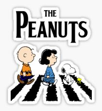 Peanuts Abbey Road Sticker