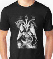 Baphomet - Devil - Sabbatic Goat - Satan 1 Slim Fit T-Shirt