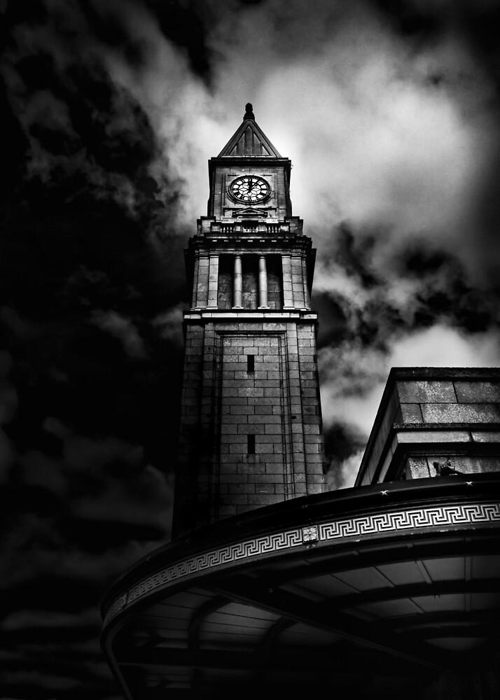 Clock Tower No 10 Scrivener Square Toronto Canada by Brian Carson