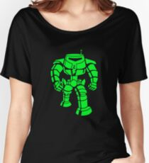 Manbot - Super Lime Variant Women's Relaxed Fit T-Shirt