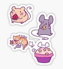 Cute Mice! Sticker