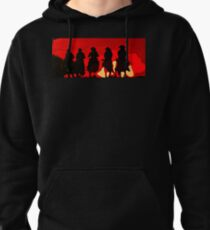 Riding out of the Sunset Pullover Hoodie