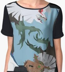 Pokemon Type:null and Silvally Chiffon Top