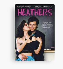 Heathers (1989) Movie Poster Canvas Print