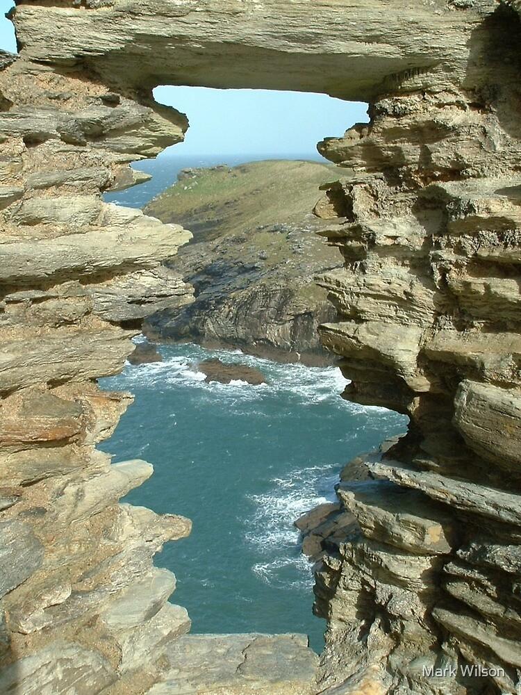 Tintagel Ocean View by Mark Wilson