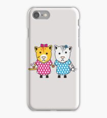 Miss Maple and Miss Neko iPhone Case/Skin