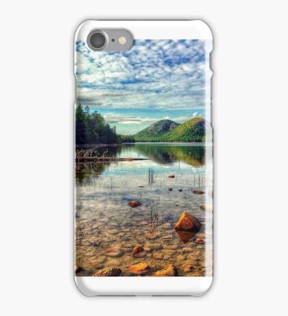Jordan Pond, Acadia National Park, maine, USA iPhone Case/Skin
