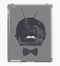 Fancy TV Set iPad Case/Skin