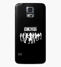 One piece charctars WhiteXBlack Case/Skin for Samsung Galaxy